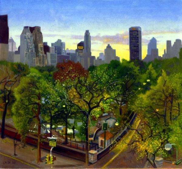 Central Park Twlight